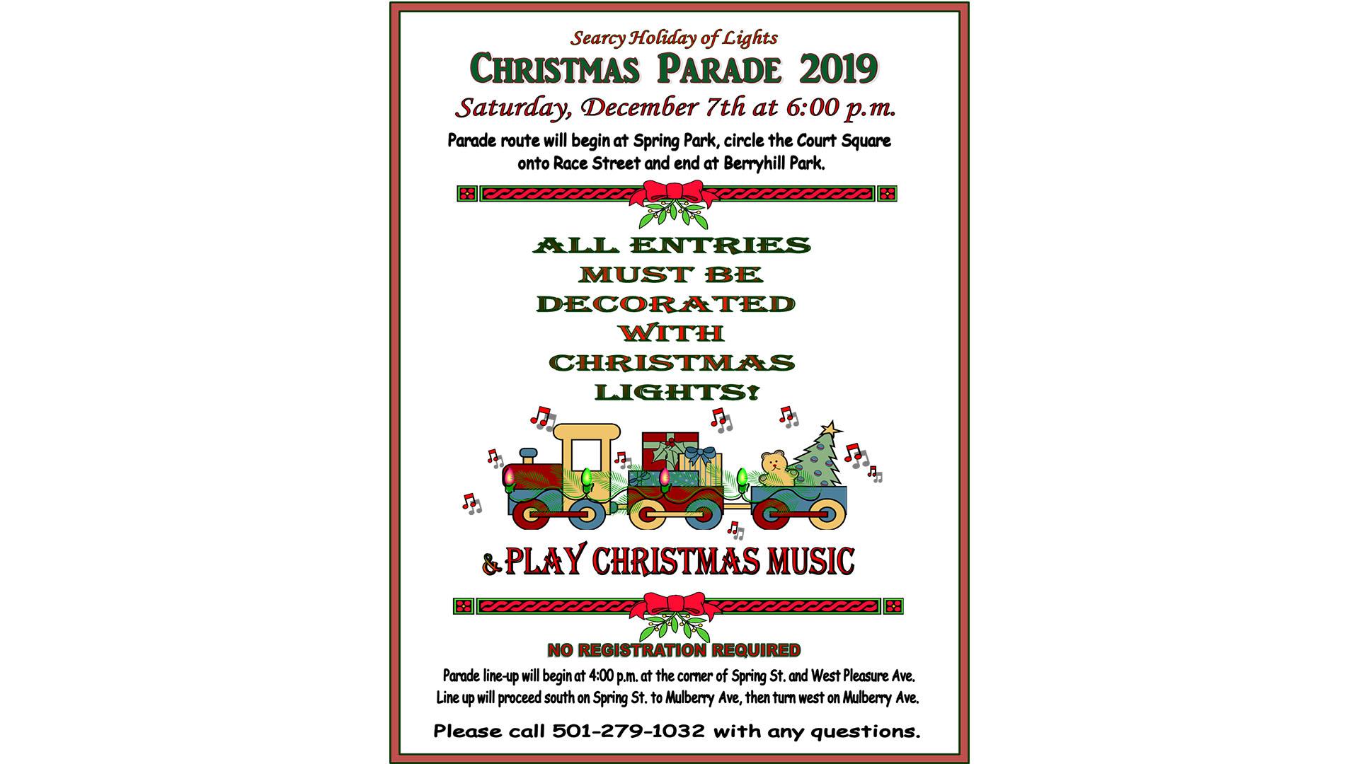 Searcy Christmas Parade 2020 Searcy Holiday of Lights, Christmas Parade | KARK