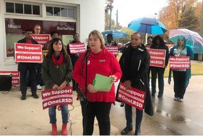 Live Updates: LR teacher union one-day strike