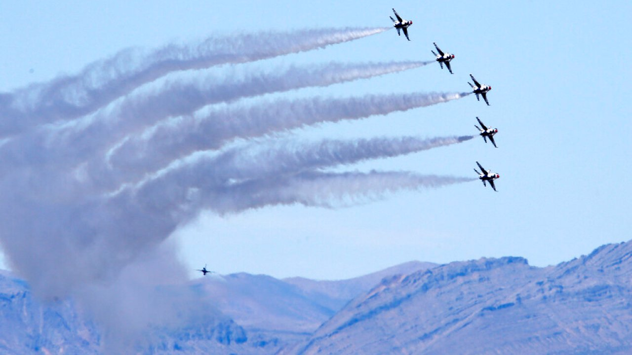 Blue Angels and Thunderbirds to fly over US cities in honor of ...