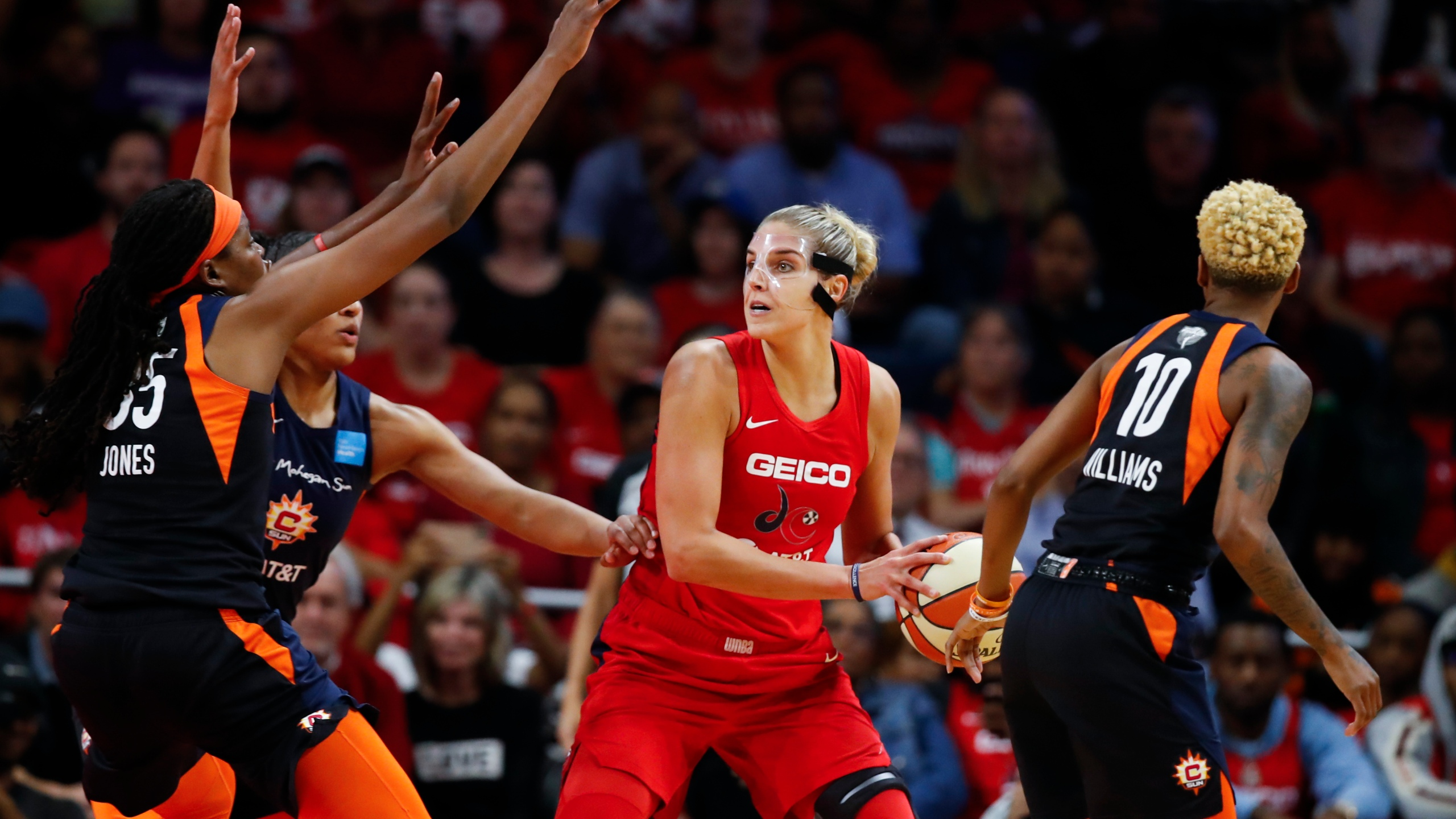 Jonquel Jones, Courtney Williams, Elena Delle