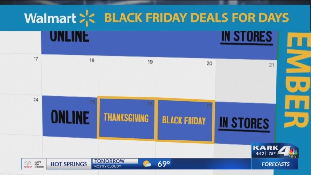 Walmart To Spread Out Deals To Avoid Black Friday Crowds Kark