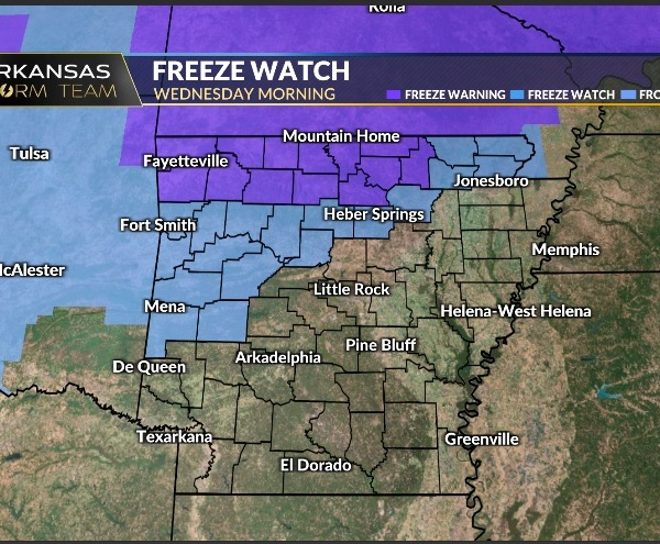 Freeze Warning
