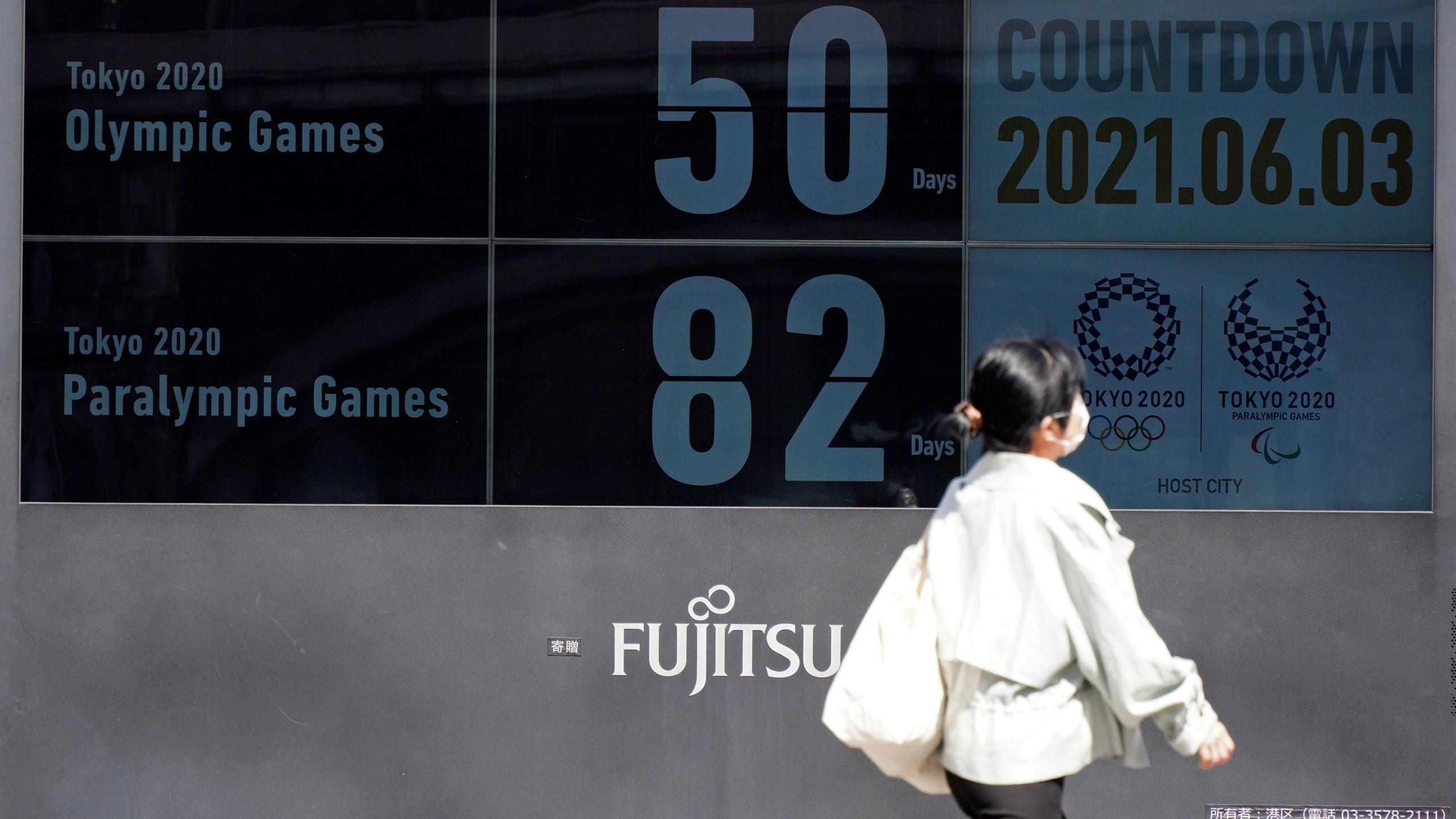 Japan Olympics 50 days